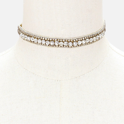 Crystal Couture Choker