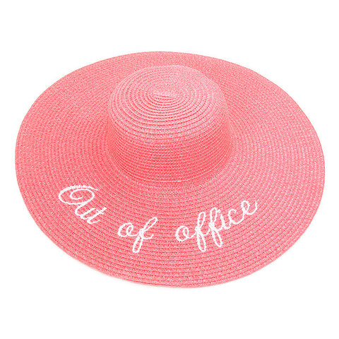 Out of Office Hat - Pink