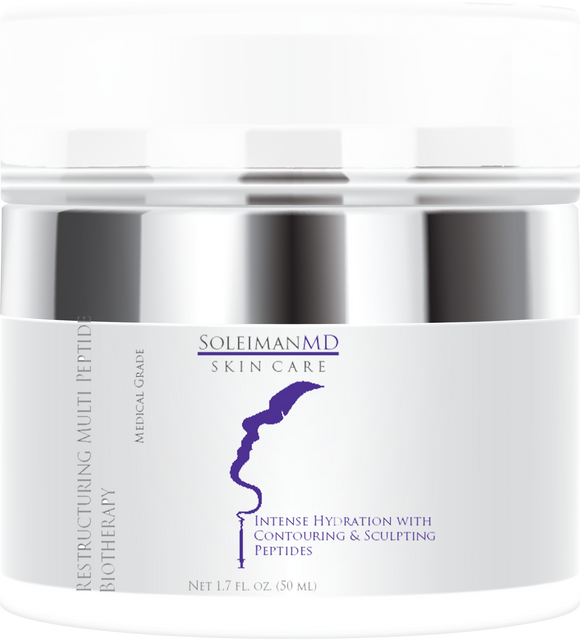 Restructuring Multi-Peptide Biotherapy Moisturizer