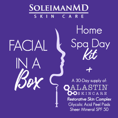FACIAL in a BOX! 30 Days of Pampered, Glowing Skin