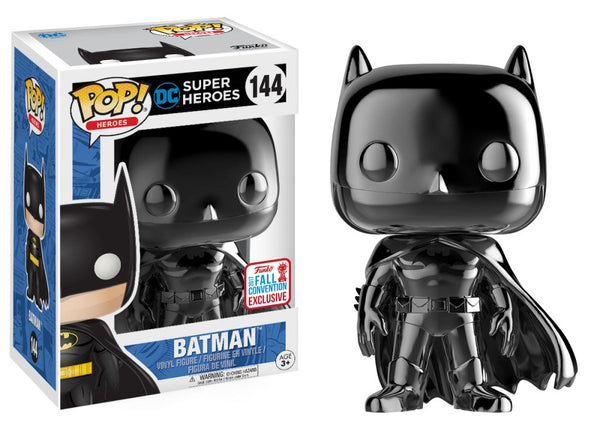 Batman - Black Chrome Fall Convention Pop! (Exclusive) - The Anime And Pop Culture Studio