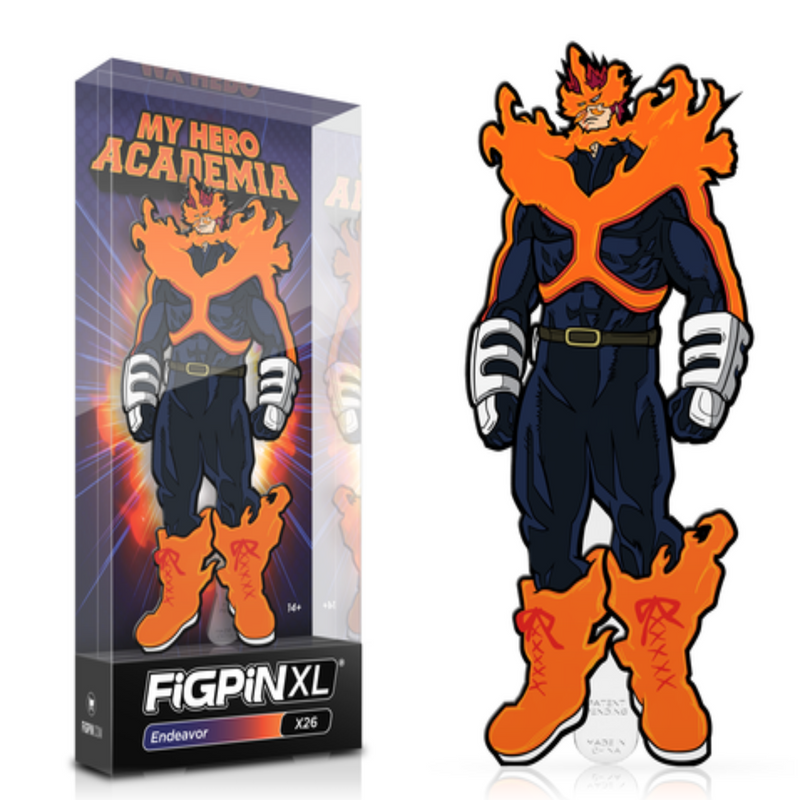 My Hero Academia Endeavor XL FiGPiN - The Anime And Pop Culture Studio