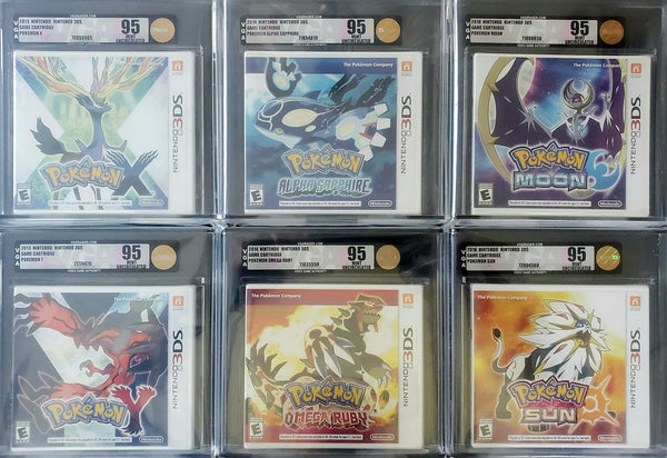 Nintendo 3DS: Pokemon Games VGA 95 - The Anime And Pop Culture Studio