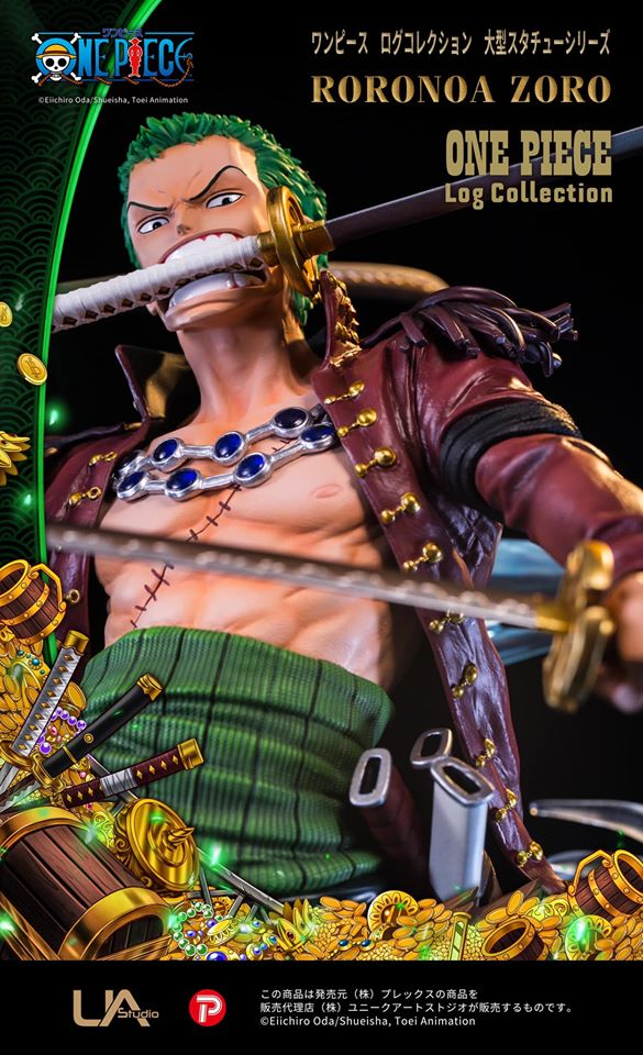 Pre-Order: Roronoa Zoro Series 3 Log Collection by Unique Art Studio 1/4 Scale One Piece - The Anime And Pop Culture Studio