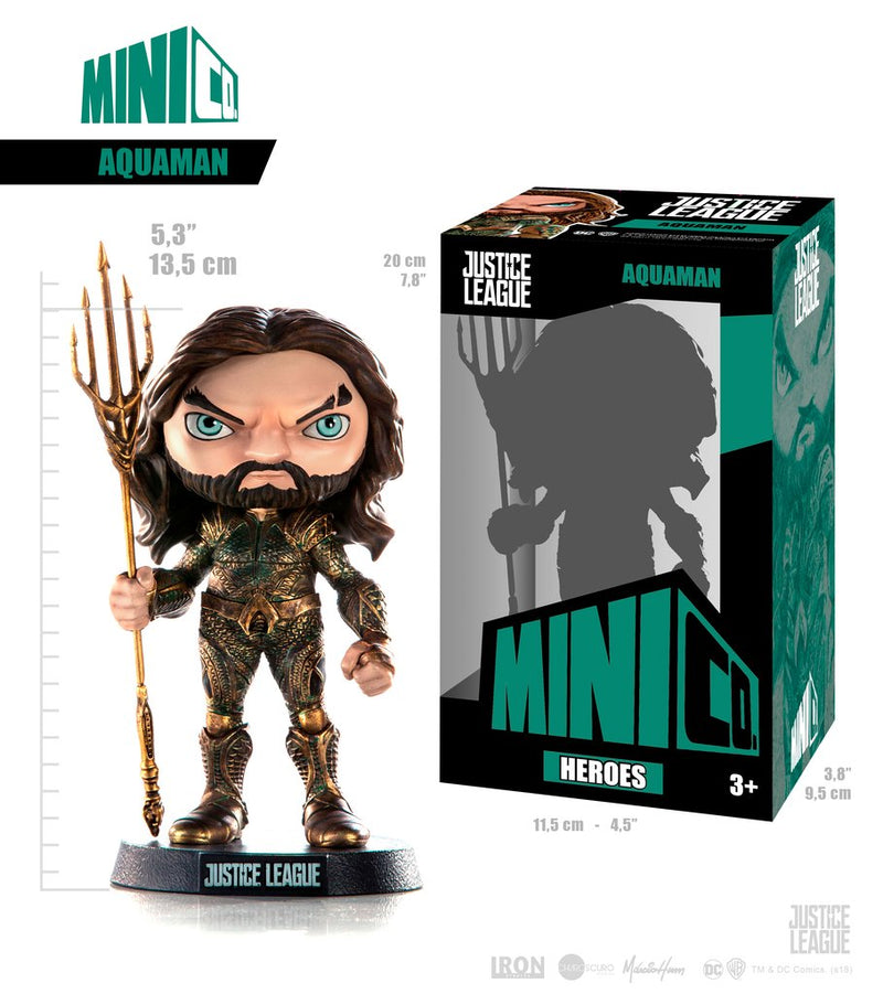 Aquaman - Justice League Aquaman - Mini Co. - The Anime And Pop Culture Studio
