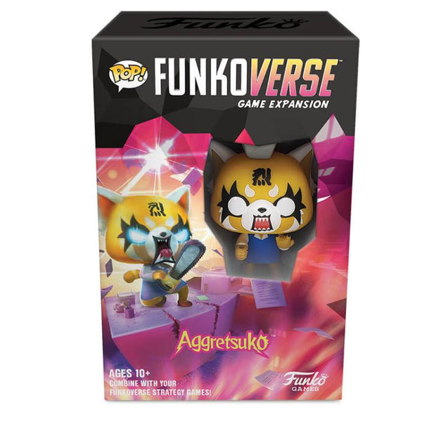 Aggretsuko Pop! Funkoverse Strategy Game Expandalone - The Anime And Pop Culture Studio