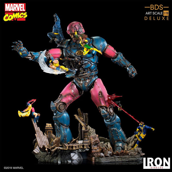 Pre-Order: X-Men Vs Sentinel #1 Deluxe BDS Art 1/10 Scale - Marvel Comics - The Anime And Pop Culture Studio