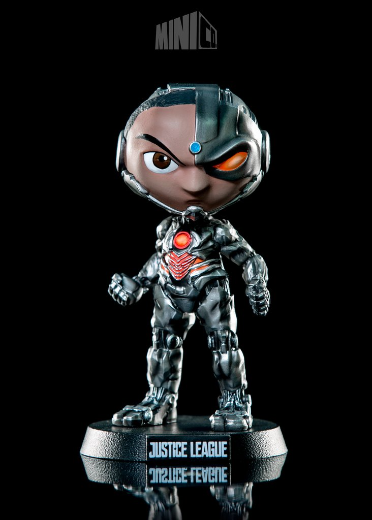 Cyborg - Justice League Version - Mini Co. - The Anime And Pop Culture Studio