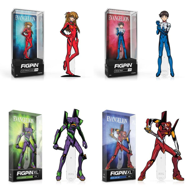 Evangelion Figpin Bundle - The Anime And Pop Culture Studio