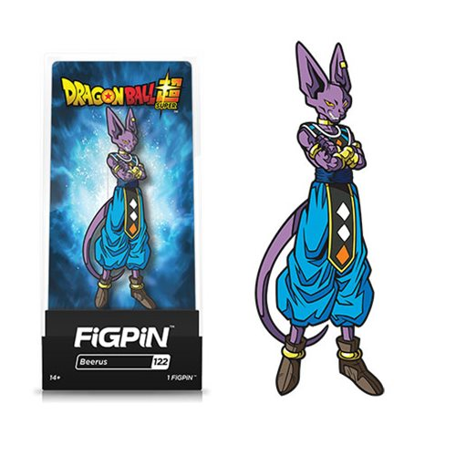 Dragon Ball Super Beerus FiGPiN - The Anime And Pop Culture Studio