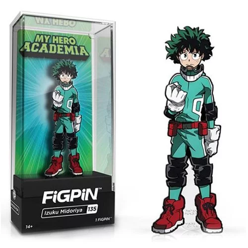 My Hero Academia Izuku Midoriya Deku FiGPiN - The Anime And Pop Culture Studio