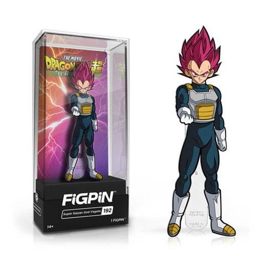 Dragon Ball Super: Super Saiyan God Vegeta FiGPiN - The Anime And Pop Culture Studio