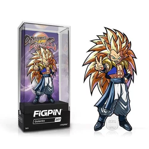 Dragon Ball FighterZ: Gotenks FiGPiN Enamel Pin - The Anime And Pop Culture Studio