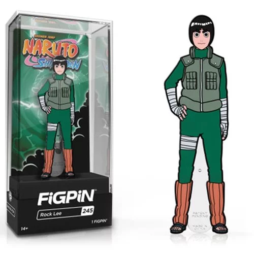 Naruto Shippuden Rock Lee FiGPiN - The Anime And Pop Culture Studio