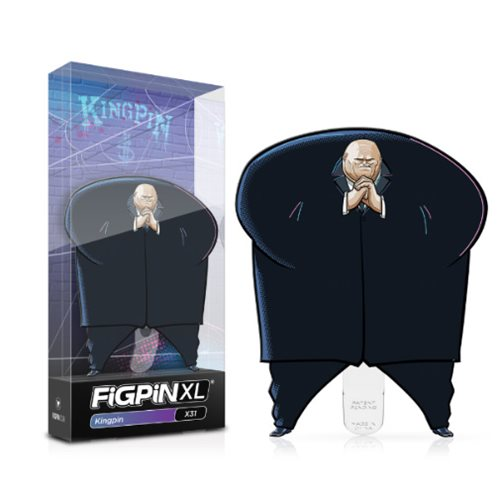 Into the Spider-Verse Kingpin FiGPiN - The Anime And Pop Culture Studio