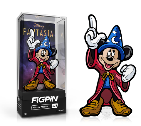 Disney Fantasia Mickey Mouse FiGPiN - The Anime And Pop Culture Studio