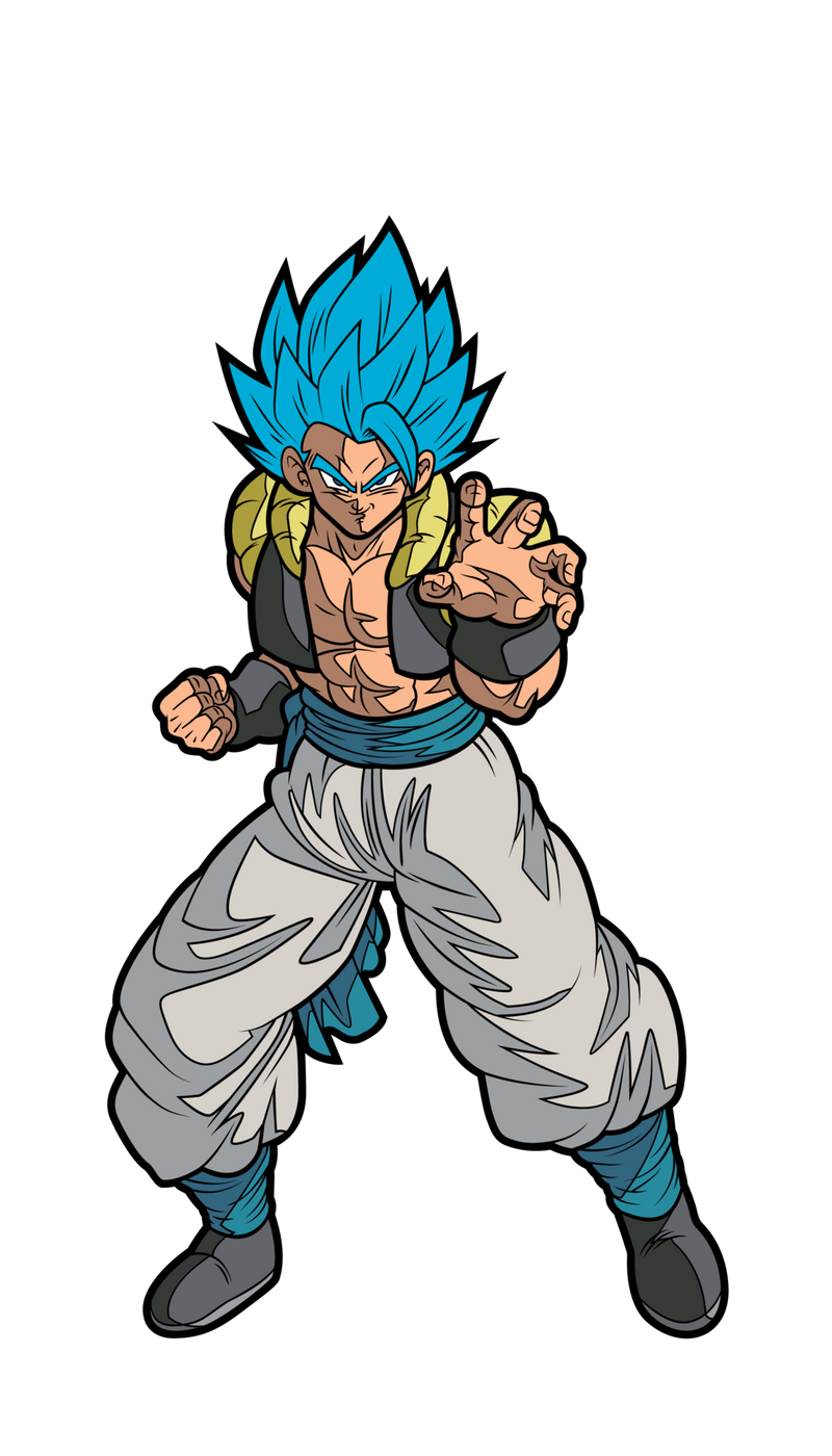 "DB Super: Broly Movie SS God SS Gogeta FiGPiN ""Chase"" - The Anime And Pop Culture Studio"