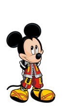 Kingdom Hearts King Mickey FiGPiN Enamel Pin - The Anime And Pop Culture Studio