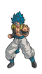DB Super: Broly Movie SS God SS Gogeta FiGPiN - The Anime And Pop Culture Studio