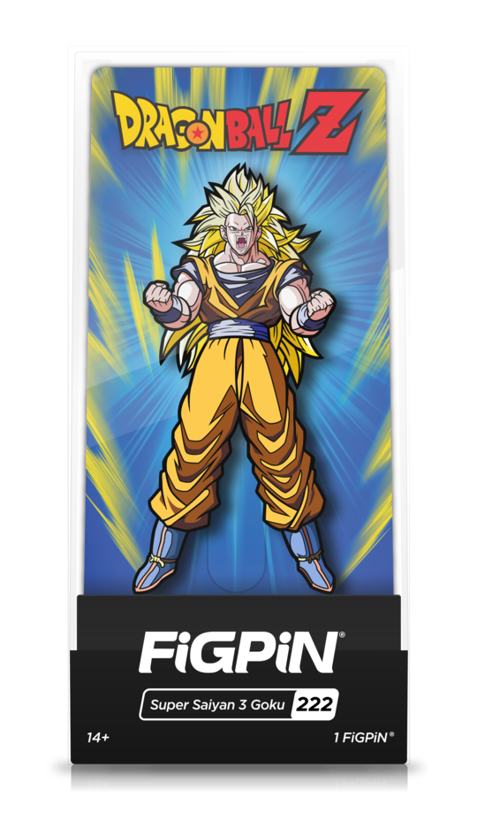 Dragon Ball Z Super Saiyan 3 Goku FiGPiN - The Anime And Pop Culture Studio