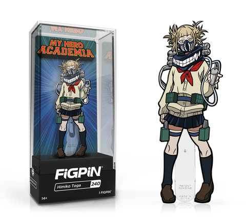 My Hero Academia Himiko Toga FiGPiN Enamel Pin - The Anime And Pop Culture Studio