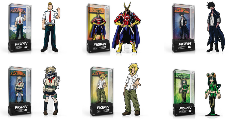 My Hero Academia Figpin Bundle