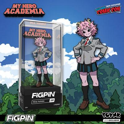 MHA: Mina Ashido NYCC (Exclusive) FiGPiN - The Anime And Pop Culture Studio