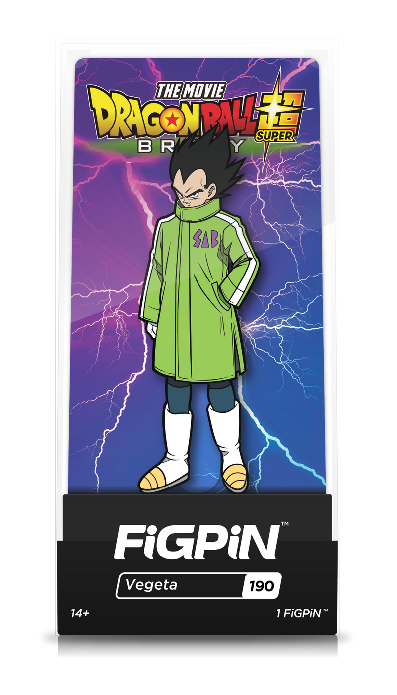 Dragon Ball Super: Broly Movie Vegeta FiGPiN - The Anime And Pop Culture Studio