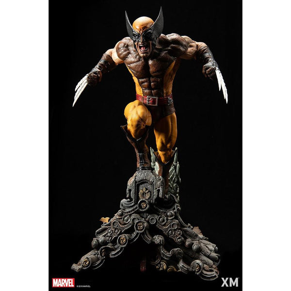 Wolverine Brown Costume Frank Miller Mini Series 1/4 Scale Statue - The Anime And Pop Culture Studio