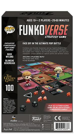 Golden Girls 100 Pop! Funkoverse Strategy Game Expandalone - The Anime And Pop Culture Studio