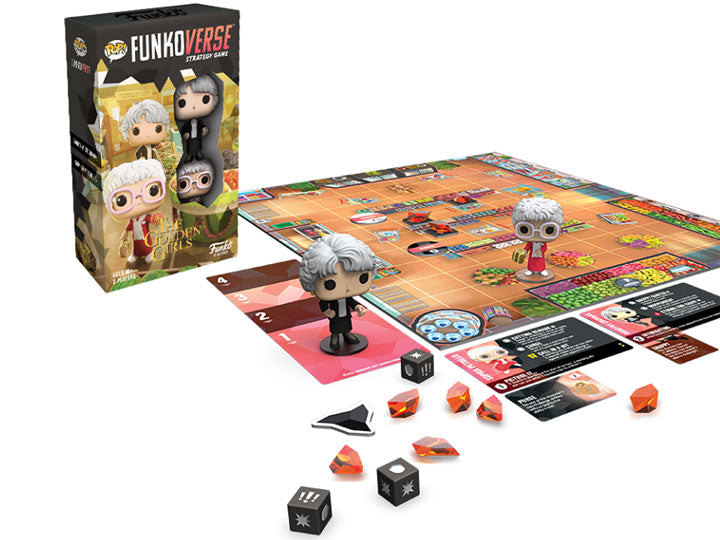 Golden Girls 101 Pop! Funkoverse Strategy Game Expandalone - The Anime And Pop Culture Studio
