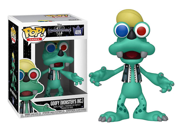 Kingdom Hearts III - Games Pop! Goofy (Monsters, Inc.) - The Anime And Pop Culture Studio