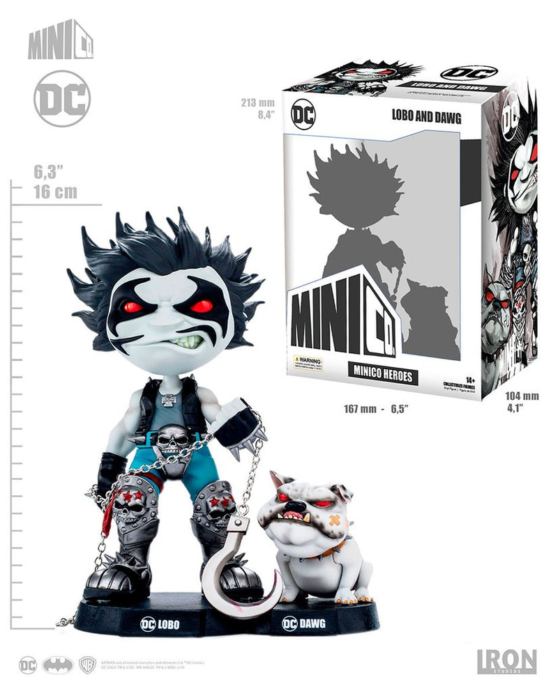 Lobo and Dawg- Mini Co. Deluxe - The Anime And Pop Culture Studio