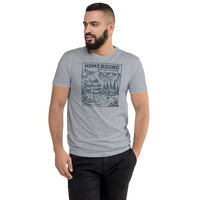 Homebound MP2 Next Level Fitted Men's Tee