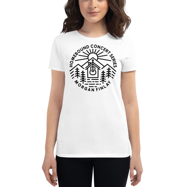 Homebound BM1DL Anvil Fashion Fit Women's Tee