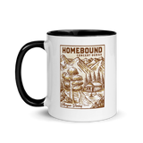 Homebound MP1 White Mug with Color Inside
