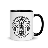 Homebound BM1DL White Mug with Color Inside