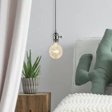 LED G125 4W Vintage Hand Crafted MIRROR Reflection SHAPE with LED FILAMENT 2200K DIM