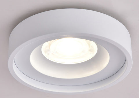 Up/Down Series - Round 6W Fixed Mount - Built-in LED - Turn on Up, Down or Both with One Control