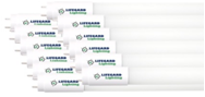 LED Tube Light 4' 34W (12-PACK)