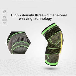 3d Weaving Knee Brace With Best Reviews - Adjustable Knee Support For Sports