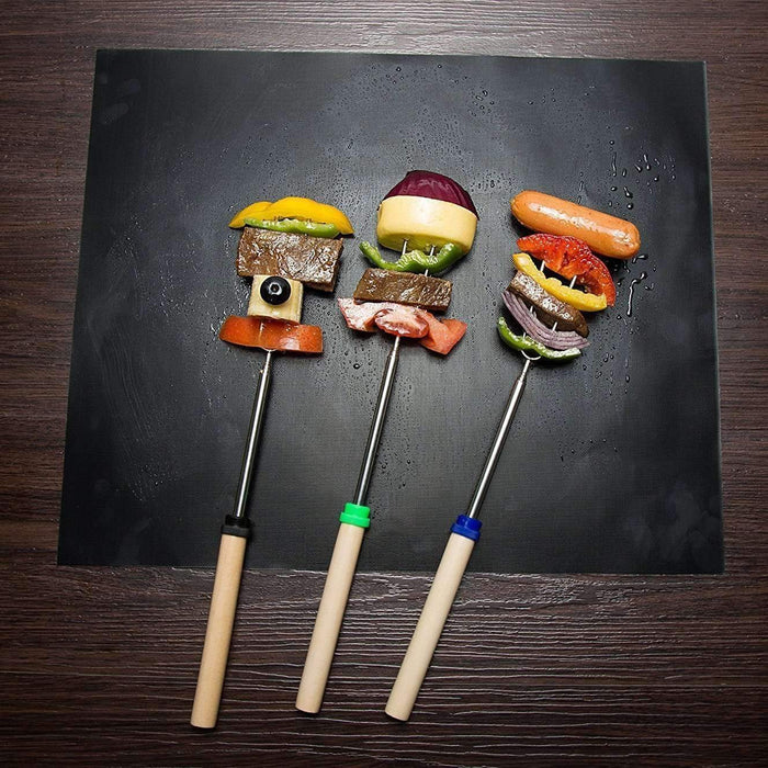 Grillmatics BBQ Mats (Reusable Set)