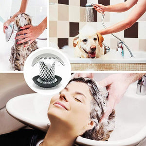 Bathtub Shower Drain Hair Catcher Protector Strainer