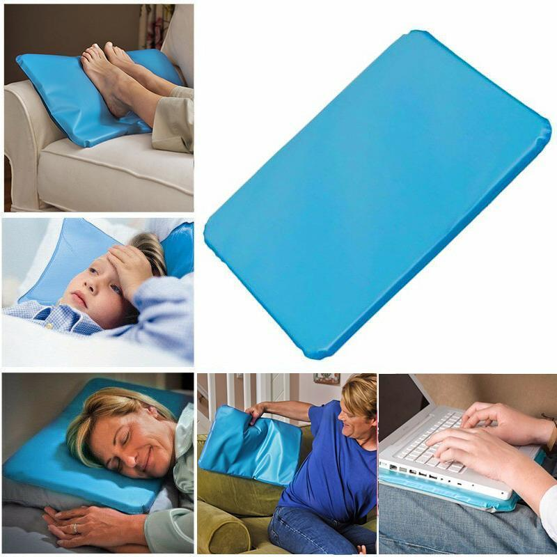 Best Cold Therapy Cooling Gel Pillow Mat for Hot Flashes