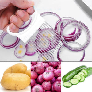 Best Thin Onion  Cutter Slicer Holder for Home