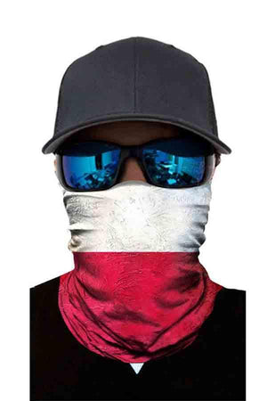 Unisex Dustproof Magic Scarf Motorcycle Neck Gaiter Sun Protection
