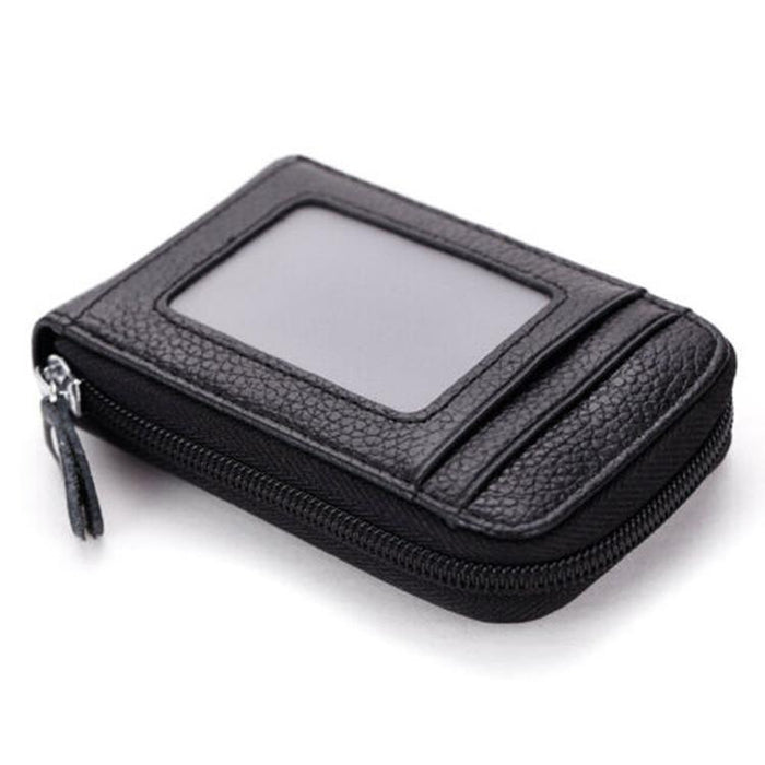 RFID Mini Wallet With 13 Compartments