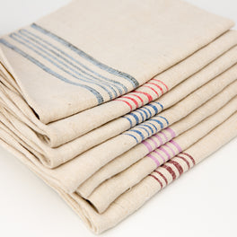 Vintage Striped Dishtowel