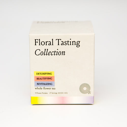 The Qi Tasting Collection Flower Teas