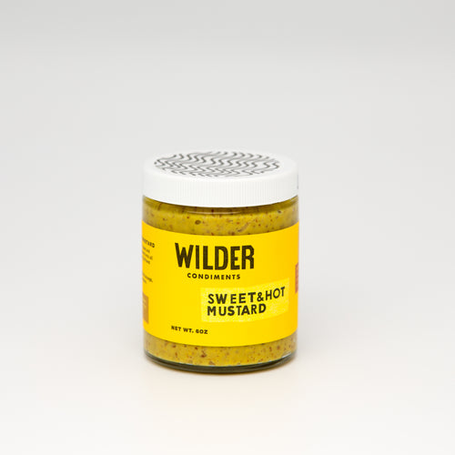 WILDER SWEET AND HOT MUSTARD